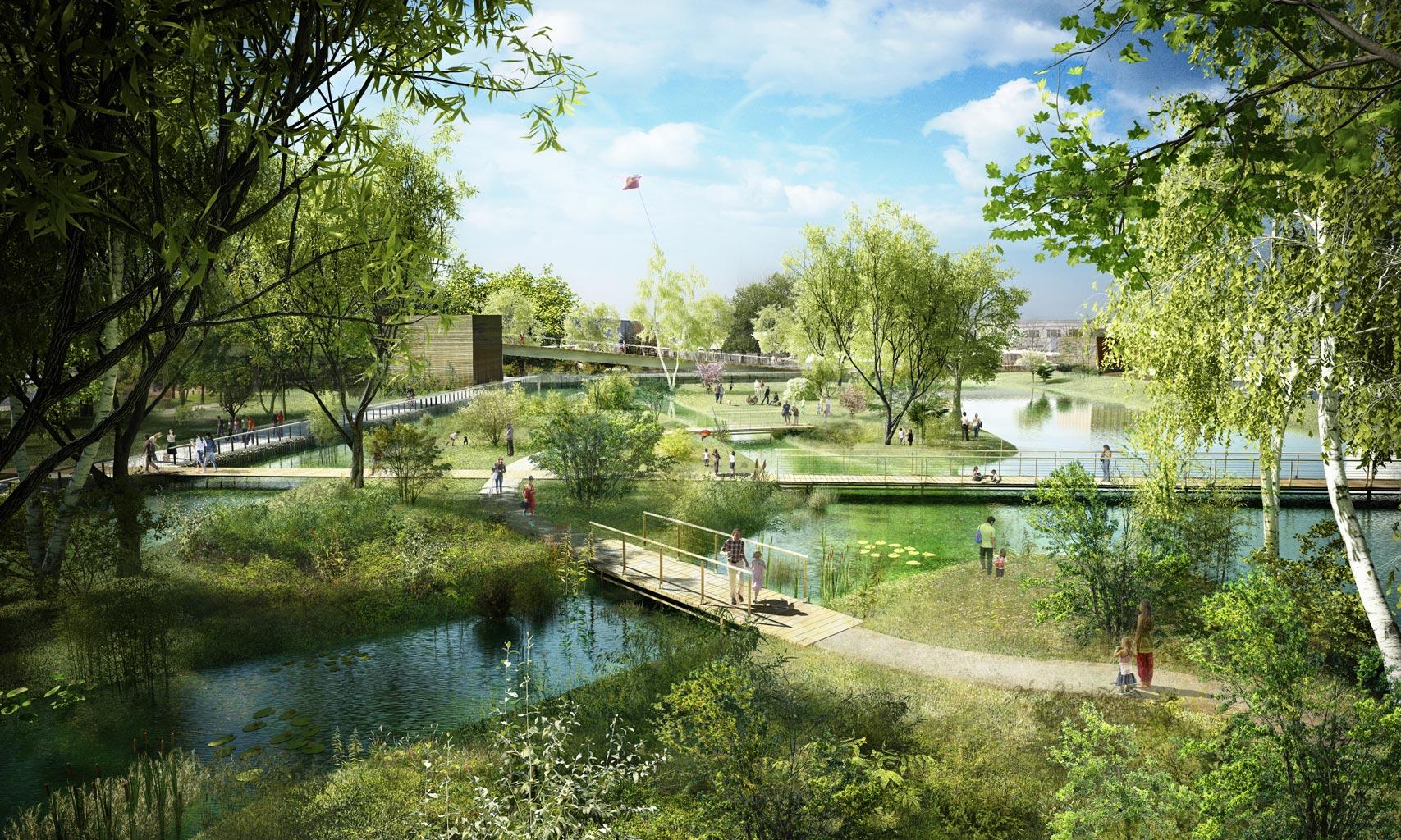 Piscine grand parc joli appartement sur grand parc avec for Chavannes piscine