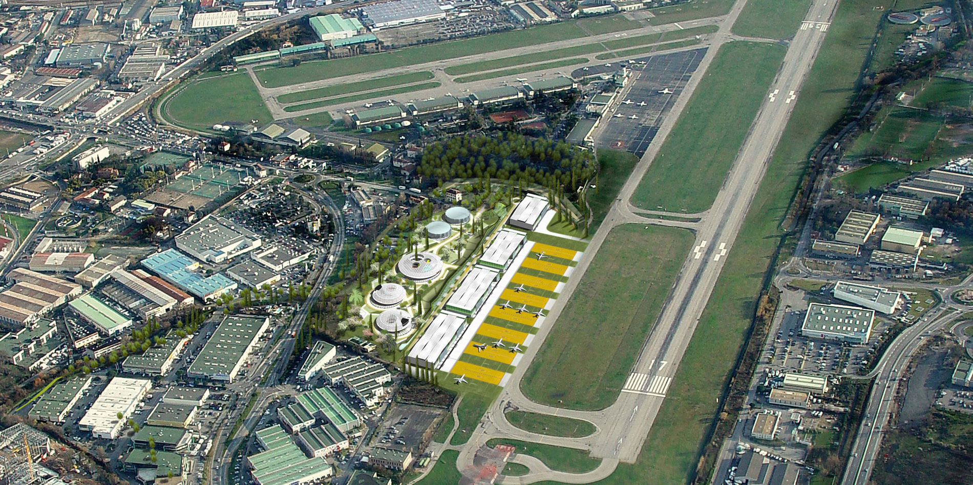 Aaupc patrick chavannes cannes airport Airport planning and design course